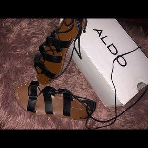 Laced up sandals (Aldo)